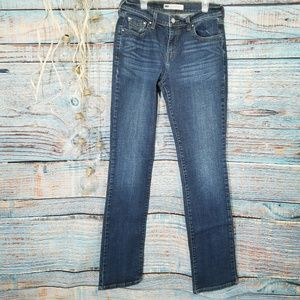 Levi's 505 Straight Leg Button Pocket Jeans Sz 6L